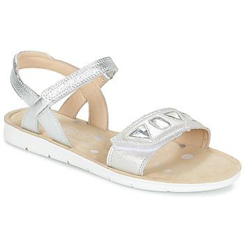Παπούτσια Κορίτσι Σανδάλια / Πέδιλα Clarks MIMOMAGIC JUNIOR Argenté