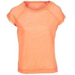 Υφασμάτινα Γυναίκα T-shirt με κοντά μανίκια Majestic 2105 Orange / Fluo