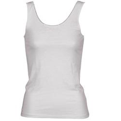 Υφασμάτινα Γυναίκα Αμάνικα / T-shirts χωρίς μανίκια Majestic 701 Άσπρο