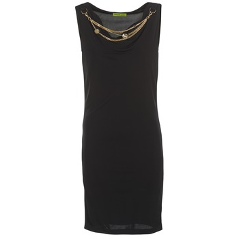 Υφασμάτινα Γυναίκα Κοντά Φορέματα Versace Jeans NDM931 Black