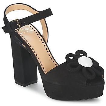 Παπούτσια Γυναίκα Σανδάλια / Πέδιλα Moschino Cheap & CHIC CA1617 Black