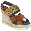 Παπούτσια Γυναίκα Σανδάλια / Πέδιλα Napapijri BELLE Camel / Dore