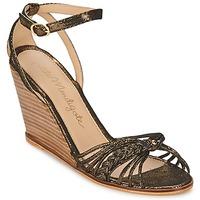 Παπούτσια Γυναίκα Σανδάλια / Πέδιλα Petite Mendigote COLOMBE Black / Gold