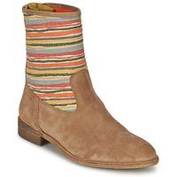 Παπούτσια Γυναίκα Μπότες Goldmud COLON TAUPE / Multicolore