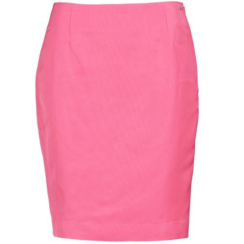 Υφασμάτινα Γυναίκα Φούστες La City JUPE2D6 Ροζ