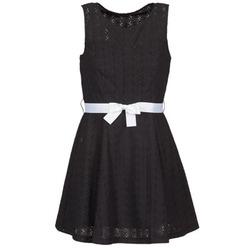 Υφασμάτινα Γυναίκα Κοντά Φορέματα La City ROBEGUI Black