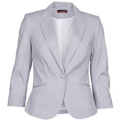 Υφασμάτινα Γυναίκα Σακάκι / Blazers La City VST1D6 Grey