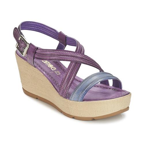 Παπούτσια Γυναίκα Σανδάλια / Πέδιλα Samoa JEBEMA Violet / μπλέ