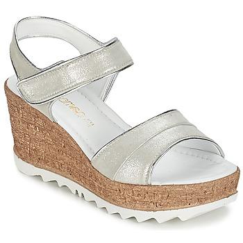 Παπούτσια Γυναίκα Σανδάλια / Πέδιλα Samoa MOJILA Grey / άσπρο
