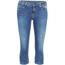 Υφασμάτινα Γυναίκα Κοντά παντελόνια Teddy Smith PANDOR COURT COMF USED Μπλέ / Medium