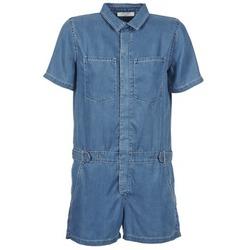 Υφασμάτινα Γυναίκα Ολόσωμες φόρμες / σαλοπέτες Teddy Smith CALINCA DENIM LYOCELL μπλέ