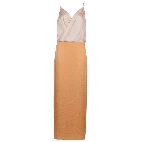 Υφασμάτινα Γυναίκα Μακριά Φορέματα Lola RAPH Ροζ / Saumon