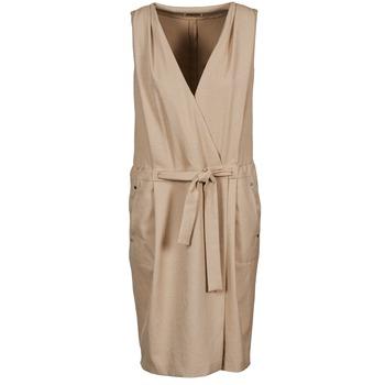 Υφασμάτινα Γυναίκα Κοντά Φορέματα Lola ROOT Beige