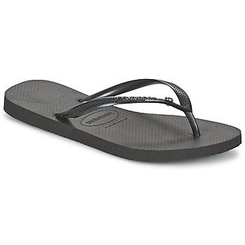Παπούτσια Γυναίκα Σαγιονάρες Havaianas SLIM CRYSTAL GLAMOUR SWAROVSKI Black