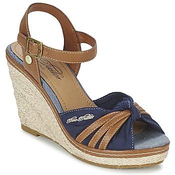 Παπούτσια Γυναίκα Σανδάλια / Πέδιλα Tom Tailor BASTIOL MARINE