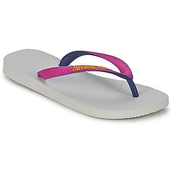 Παπούτσια Γυναίκα Σαγιονάρες Havaianas TOP MIX Άσπρο / Ροζ