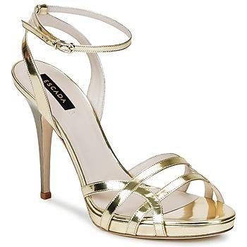 Παπούτσια Γυναίκα Σανδάλια / Πέδιλα Escada AS683 Gold
