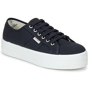 Xαμηλά Sneakers Victoria BLUCHER LONA PLATAFORMA
