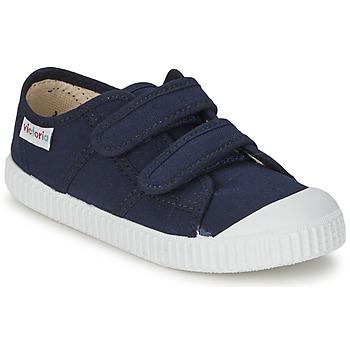 Παπούτσια Παιδί Χαμηλά Sneakers Victoria BLUCHER LONA DOS VELCROS Marine