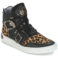 Παπούτσια Γυναίκα Ψηλά Sneakers New Rock ANTERLO Leopard