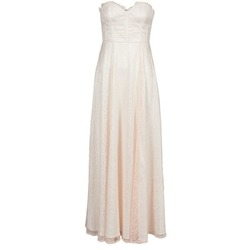 Υφασμάτινα Γυναίκα Μακριά Φορέματα Manoukian 613346 Ροζ / Beige