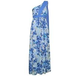 Υφασμάτινα Γυναίκα Μακριά Φορέματα Manoukian 613356 Μπλέ