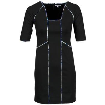 Υφασμάτινα Γυναίκα Κοντά Φορέματα Manoukian 613369 Black