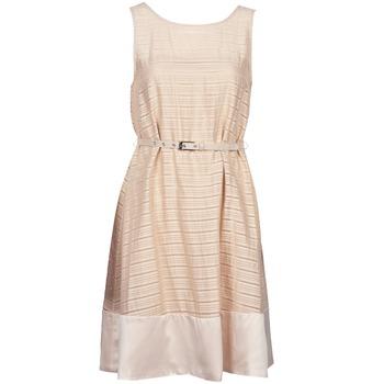 Υφασμάτινα Γυναίκα Κοντά Φορέματα Manoukian 613374 Beige