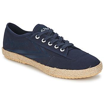 Παπούτσια Χαμηλά Sneakers Feiyue FELO PLAIN Μπλέ / Άσπρο