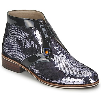 Παπούτσια Γυναίκα Μπότες C.Petula PEGASE Argenté