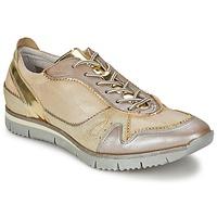 Παπούτσια Γυναίκα Χαμηλά Sneakers Manas  Gold