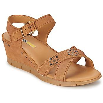Παπούτσια Γυναίκα Σανδάλια / Πέδιλα Manas  Camel