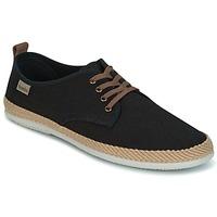 Παπούτσια Άνδρας Χαμηλά Sneakers Victoria BLUCHER LINO DETALLE SERRAJE Black