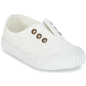 Παπούτσια Παιδί Χαμηλά Sneakers Victoria INGLESA LONA TINTADA άσπρο