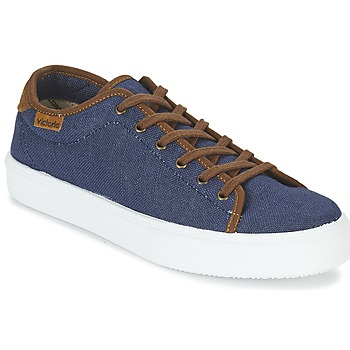 Παπούτσια Άνδρας Χαμηλά Sneakers Victoria BASKET LINO DETALLE MARRON MARINE / Brown