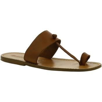Παπούτσια Γυναίκα Μπότες Gianluca - L'artigiano Del Cuoio 554 U CUOIO CUOIO Cuoio