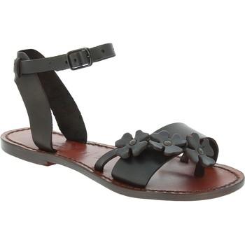 Παπούτσια Άνδρας Σανδάλια / Πέδιλα Gianluca - L'artigiano Del Cuoio 593 D MORO CUOIO Testa di Moro