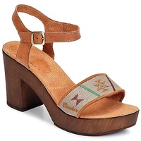 Παπούτσια Γυναίκα Σανδάλια / Πέδιλα Bunker LUCY Brown / Taupe