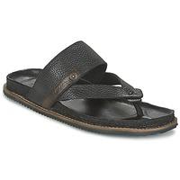 Παπούτσια Άνδρας Σανδάλια / Πέδιλα Levi's CHABOT FLIP FLOP Black