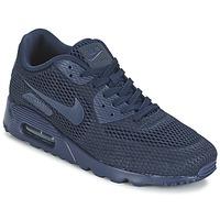 Παπούτσια Άνδρας Χαμηλά Sneakers Nike AIR MAX 90 ULTRA BREATHE μπλέ