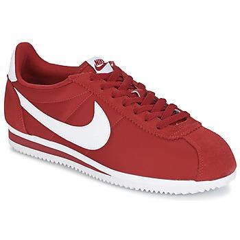 Παπούτσια Άνδρας Χαμηλά Sneakers Nike CLASSIC CORTEZ NYLON Red