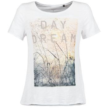 Υφασμάτινα Γυναίκα T-shirt με κοντά μανίκια Marc O'Polo MOFRAGO Άσπρο