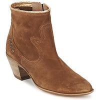 Παπούτσια Γυναίκα Μποτίνια Spiral HEIDI Brown / Gold