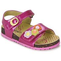 Παπούτσια Κορίτσι Σανδάλια / Πέδιλα Kickers MAGIFLOWER FUCHSIA