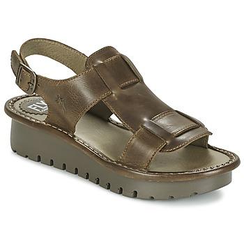Παπούτσια Γυναίκα Σανδάλια / Πέδιλα Fly London KANI Brown