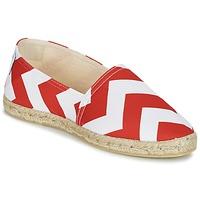 Παπούτσια Γυναίκα Εσπαντρίγια Maiett NOUVELLE VAGUE Red / Άσπρο
