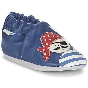 Παπούτσια Αγόρι Σοσονάκια μωρού Robeez JOLLY PEG μπλέ