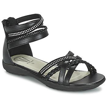 Παπούτσια Κορίτσι Σανδάλια / Πέδιλα Wildflower GRIMSTAD Black