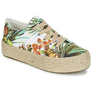 Παπούτσια Γυναίκα Χαμηλά Sneakers Wildflower EGINA Green / Tropical