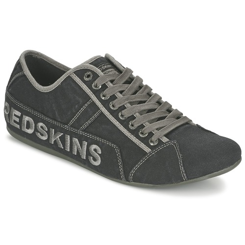 bb5345c6f37 Παπούτσια Άνδρας Χαμηλά Sneakers Redskins TEMPO Black